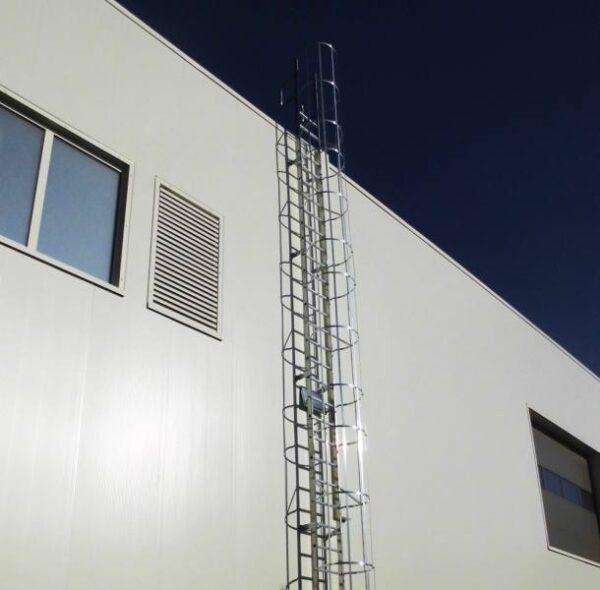 scala con gabbia verona