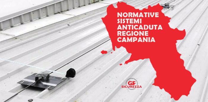 normativa lavori in quota Campania