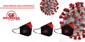mascherina unica antivirale gf sicurezza