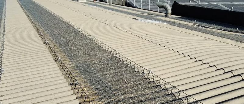 rete metallica anticaduta