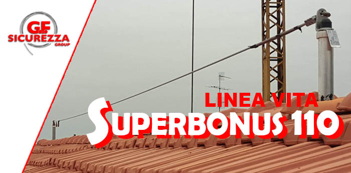linea vita con super bonus 110